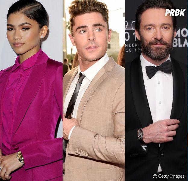 "Zendaya, Zac Efron e Hugh Jackman vão estrelar o musical ""The Greatest Showman on Earth"""