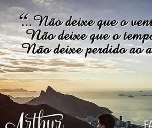 "A letra de ""A Flor"" foi escrita pelo próprio Arthur Aguiar"