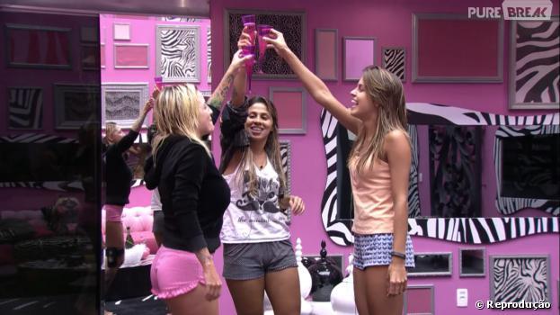 """No """"BBB14"""", Angela, Clara e Vanessa fazem planos para depois do reality show"""
