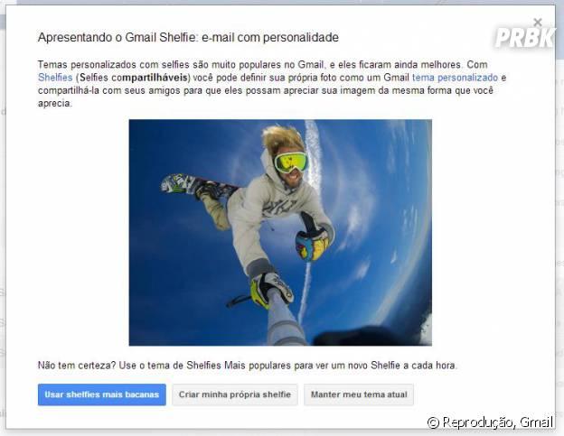 Já atualizou seu Gmail com sua shelfie?