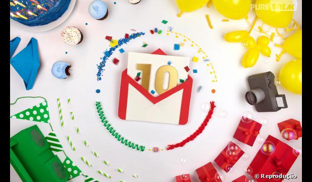 O email do Google completa 10 anos!