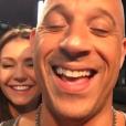 """Nina Dobrev e Vin Diesel se divertem em bastidores de novo """"Triplo X"""""""