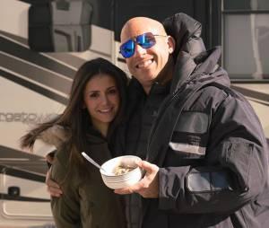 "Nina Dobrev e Vin Diesel filmam a nova sequência de ""Triplo X"" no Canadá"