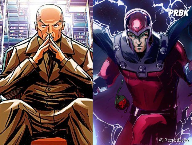 """Professor Xavier e Magneto, de """"X-Men"""", tem uma amizade meio complicada, mas estão sempre juntos"""