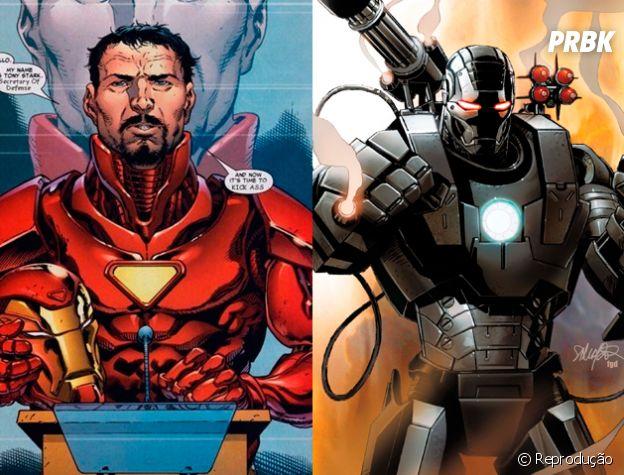 Homem de Ferro e Máquina de Combate são BFF's!