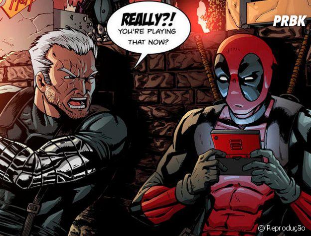Deadpool e Cable são completamente opostos!
