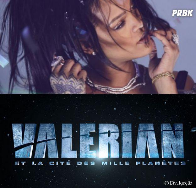 """Rihanna faz parte do elenco de """"Valerian e a Cidade dos Mil Planetas"""""""