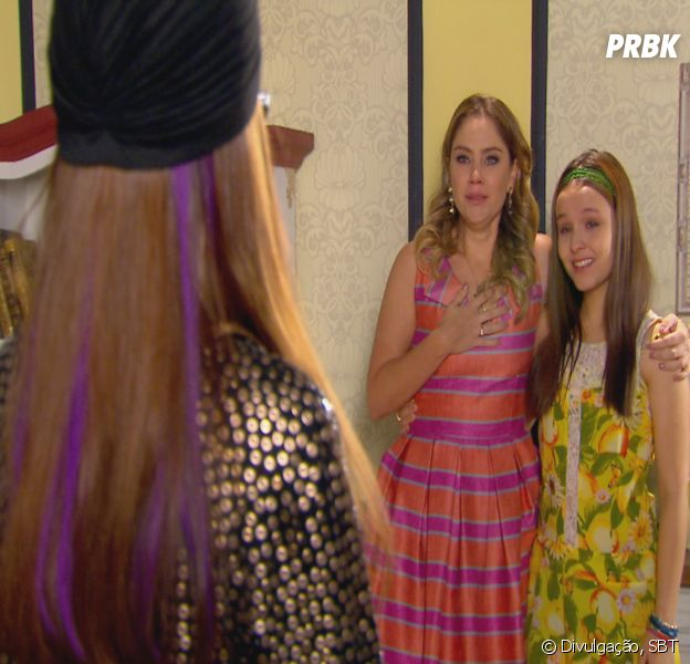 "Em ""Cúmplices de um Resgate"": Rebeca (Juliana Barone) conhece Isabela (Larissa Manoela)!"
