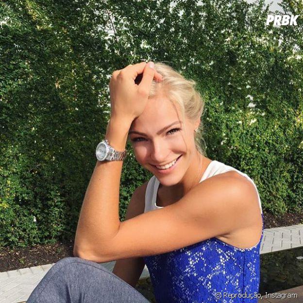 Darya Klishina é dona do recorde de 7,03 metros de distância, a segunda maior marca da categoria em todos os tempos!
