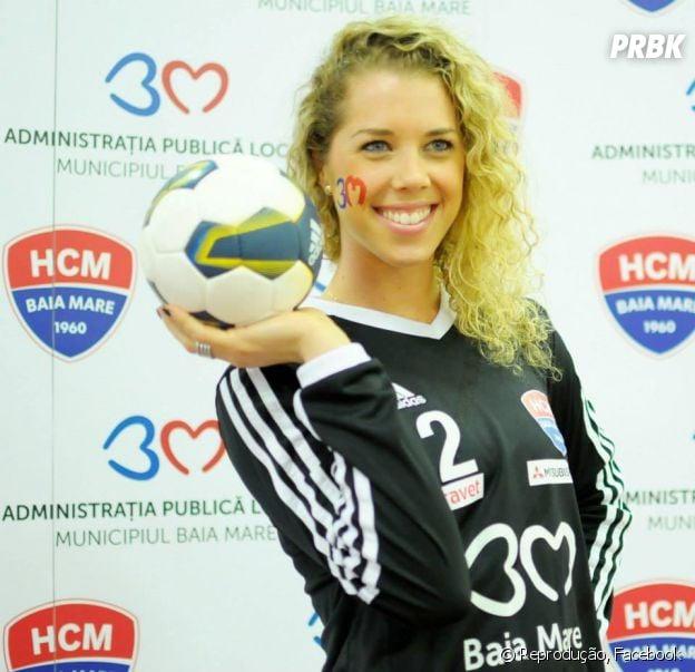 Bárbara Arenhart é a goleira da Seleção Brasileira de Handebol
