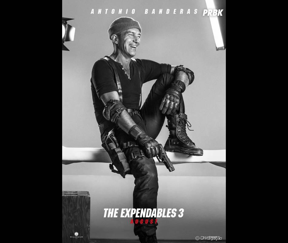 """Antonio Banderas está no elenco de """"Os Mercenários 3"""""""