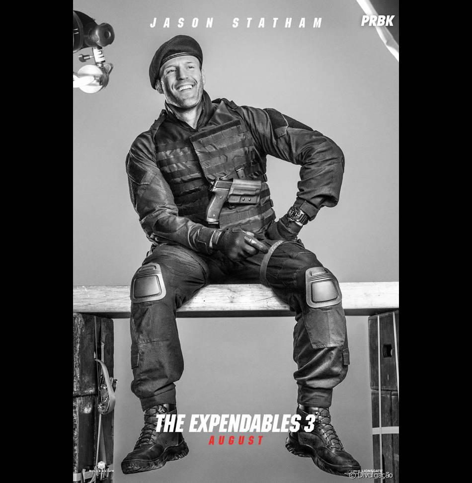 """Jason Statham está no elenco de """"Os Mercenários 3"""""""