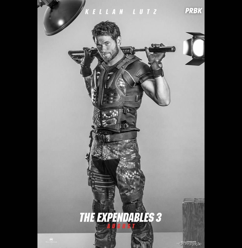 """Kellan Lutz está no elenco de """"Os Mercenários 3"""""""