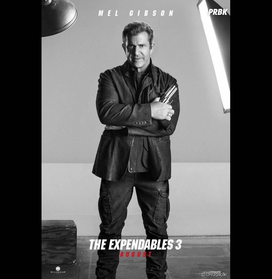 """Mel Gibson está no elenco de """"Os Mercenários 3"""""""