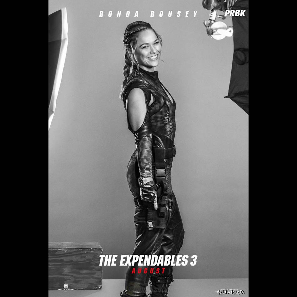 """Ronda Rousey está no elenco de """"Os Mercenários 3"""""""