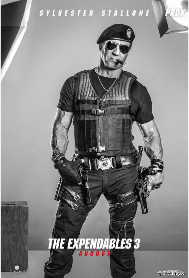 """Stallone lidera elenco de """"Os Mercenários 3"""""""
