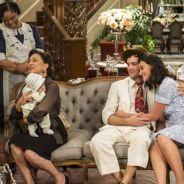 """Final """"Êta Mundo Bom!"""": Candinho (Sergio Guizé) e Filomena têm casamento aprovado por Anastácia"""