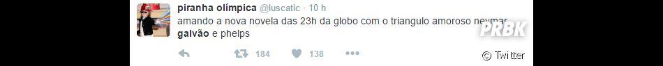 E o Michael Phelps, Galvão Bueno? Vitória do Brasil sobrea Dinamarca nasOlimpíadas Rio 2016 mudou tudo!