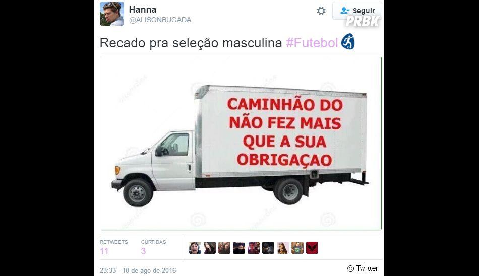 Memes do jogo Brasil x Dinamarca nasOlimpíadas Rio 2016 divertem redes sociais
