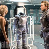 """Jennifer Lawrence e Chris Pratt, de """"Guardiões da Galáxia"""", aparecem em fotos do filme """"Passengers""""!"""