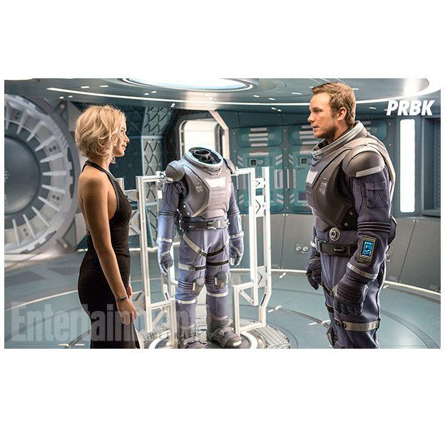 """De """"Passenger"""": Jennifer Lawrence e Chris Pratt vão viver casal que se conhecem no espaço"""