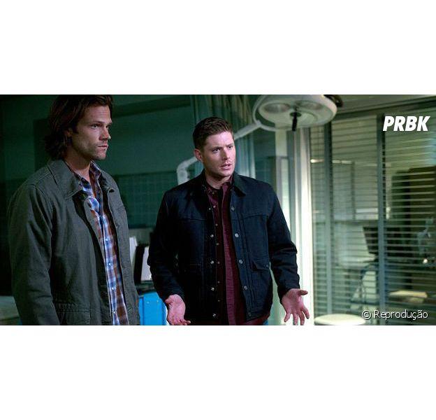 """Em """"Supernatural"""": Sam (Jared Padalecki) e Dean (Jensen Ackles) lutam contra Adolf Hitler!"""