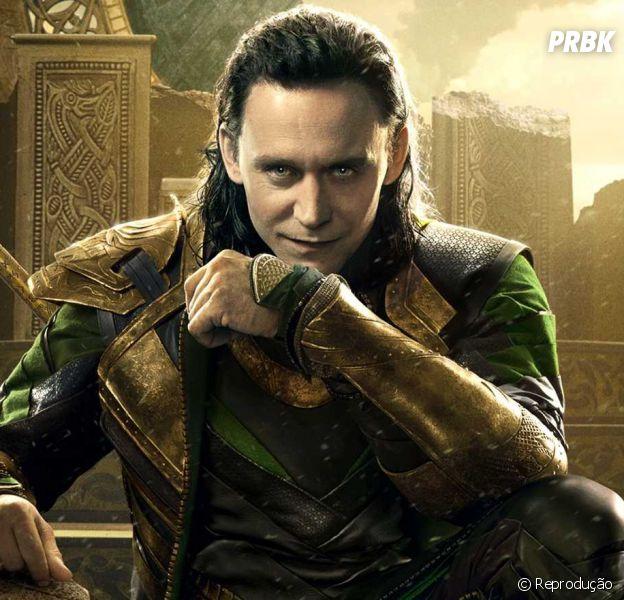 "Loki (Tom Hiddleston) foi cortado de ""Vingadores 2"" para nao ser confundido como o vilão principal da historia"