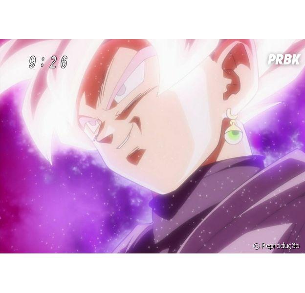"""Em """"Dragon Ball Super"""": Black Goku surge com cabelos cor de rosa!"""