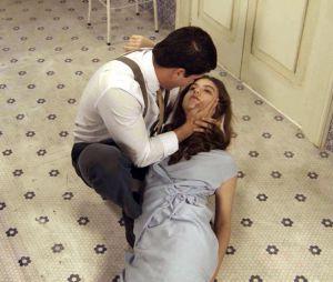 """Em """"Êta Mundo Bom!"""", Gerusa (Giovanna Grigio) morre nos braços de Osório (Arthur Aguiar)"""
