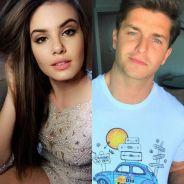 """Camila Queiroz e Klebber Toledo postam fotos parecidas e atriz fala sobre especulações: """"Que saco"""""""