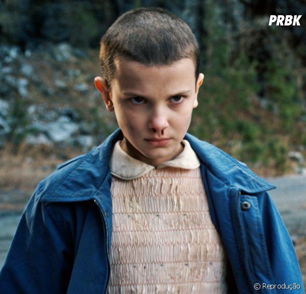 """De """"Stranger Things"""": na 2ª temporada,Eleven (Millie Bobby Brown) ainda é dúvida na produção"""