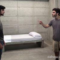 """Em """"Além do Horizonte"""": William e Marlon discutem feio por causa de Lili!"""