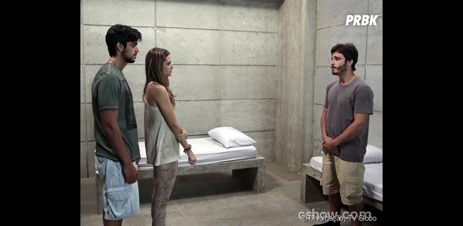 """Em """"Além do Horizonte"""", William (Thiago Rodrigues) dirá que apoia o namoro de Marlon (Rodrigo Simas) e Lili (Juliana Paiva)"""