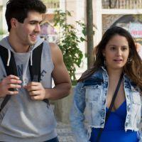 """Novela """"Malhação"""": Rômulo (Juliano Laham) convida Nanda para ir ao cinema!"""