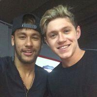 One Direction e Neymar melhores amigos? Jogador posta foto com Niall Horan