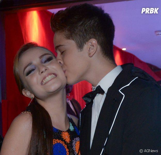 96c82556b5f7d Larissa Manoela e João Guilherme fazem 1 ano de namoro e trocam ...