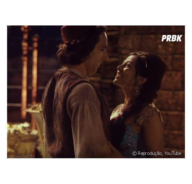 """De """"Once Upon a Time"""": na 6ª temporada, Aladdin e Jasmine aparecem pela primeira vez em novo trailer!"""