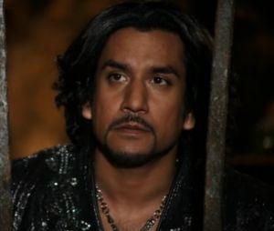 """Em """"Once Upon a Time"""", Jafar (Oded Fehr) não vai deixar Aladdin (Deniz Akdeniz) e Jasmine (Karen David) em paz!"""