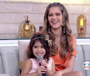 Estamos apaixonados pela relação das irmãs Isabella Santoni e Nina