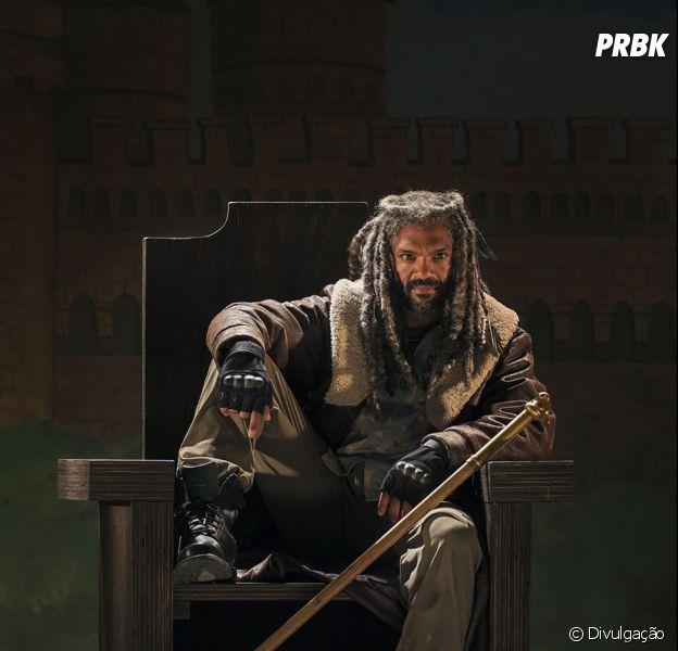 "Rei Ezekiel (Khary Payton)apresenta sua vila em novo trailer de ""The Walking Dead"""