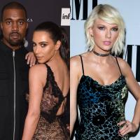 """Kim Kardashian diz que nunca falou mal de Taylor Swift: """"Eu sou fã"""""""