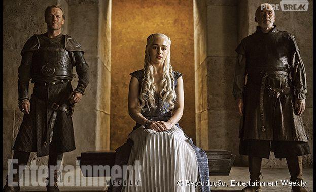 """Khaleesi ganha nova sala de trono até chegar em Westeros, em """"Game of Thrones"""""""