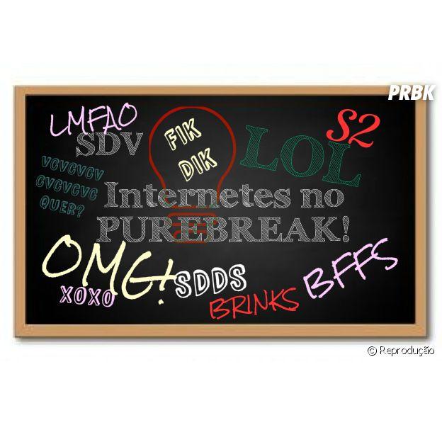 O Pubreak te ensina tudo sobre internetês, as siglas da internet!
