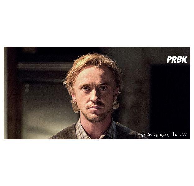 """Tom Felton em """"The Flash"""": trailer mostra entrada do ator na série!"""