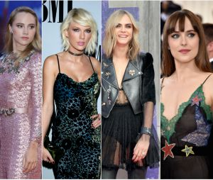 Taylor Swift, Dakota Johnson, Cara Delevingne e Suki Waterhouse saem juntas para se divertir!