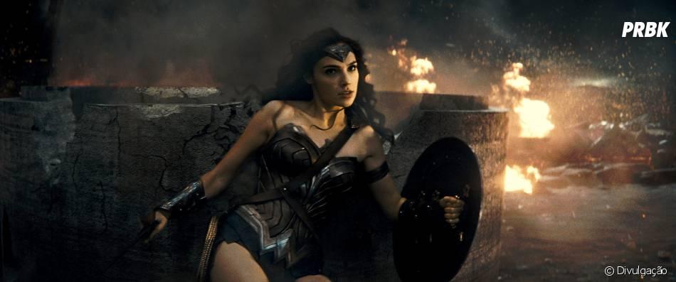 """Mulher-Maravilha (Gal Gadot) fez sua primeira aparição em """"Batman Vs Superman: A Origem da Justiça"""""""