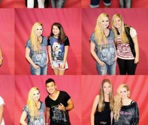 Avril Lavigne é acusada de usar Photoshop em fotos do Meet & Greet no Brasil por coluna