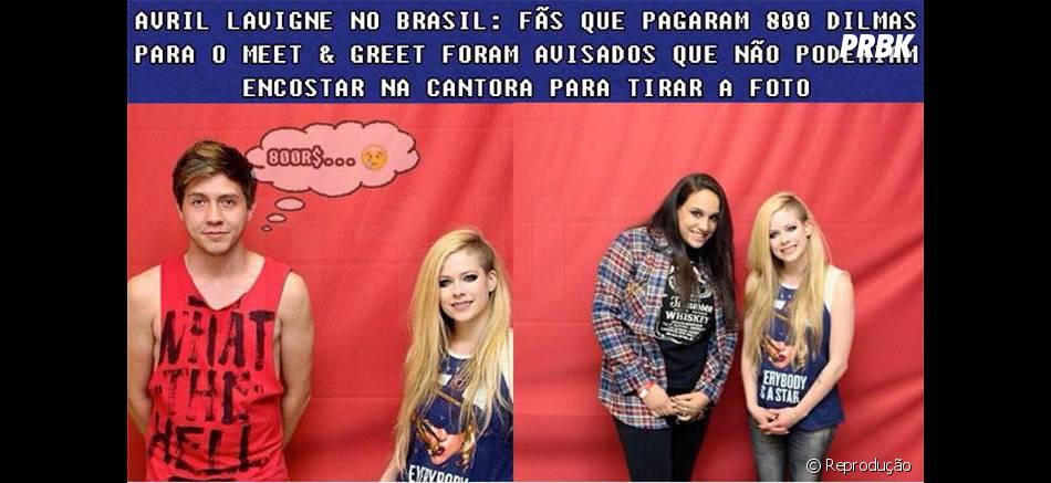 Avril lavigne virou piada na internet com o seu meet greet no avril lavigne virou piada na internet com o seu meet greet no brasil m4hsunfo
