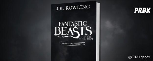 """O livro """"Animais Fantásticos e Onde Habitam"""" foi lançado por J. K. Rowling em 2001"""