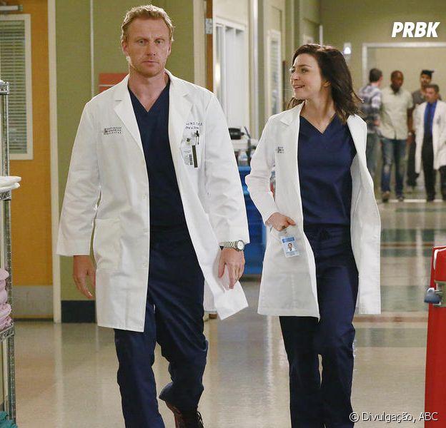Amelia (Caterina Scorsone) e Owen (Kevin McKidd) querem ter um bebê!